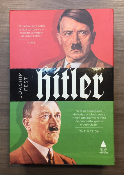 Livros - Box - Hitler - 2 Volumes - Promoção Frete Grátis