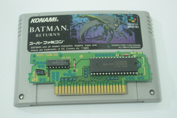 Jogo Batman Returns Original Para Super Nintendo Japones