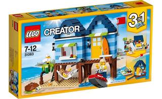 Lego Creator 31063 Vacaciones Casa De Playa Original