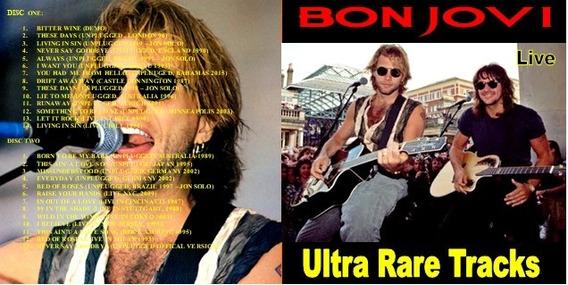 Bon Jovi - Cd Duplo Ultra Rare Trax - Unplugged & Live