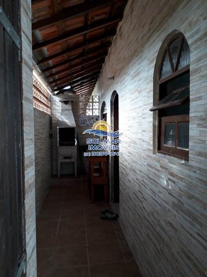 Casa De 01 Dormitório-jardim Real-praia Grande - Sm30