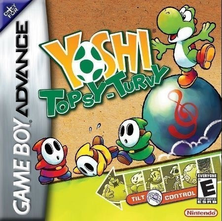 Yoshi Topsy Turvy Gba Game Boy Advanced Físico