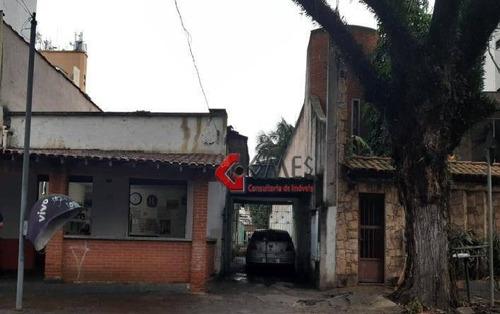 Imagem 1 de 3 de Terreno À Venda, 580 M² Por R$ 1.500.000,00 - Rudge Ramos - São Bernardo Do Campo/sp - Te0271