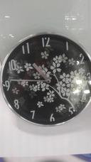 9681bdb1956 Relógio De Parede Aro De Alumínio Ponteiro Contínuo 25 Cm