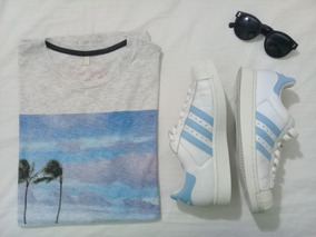 Tênis adidas Original/38/ Semi Novo/couro + Camiseta Brinde