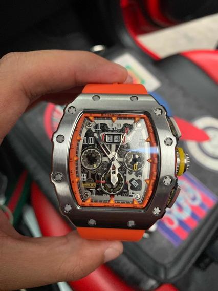 Reloj Richard Mille Orange De Colección En Stock