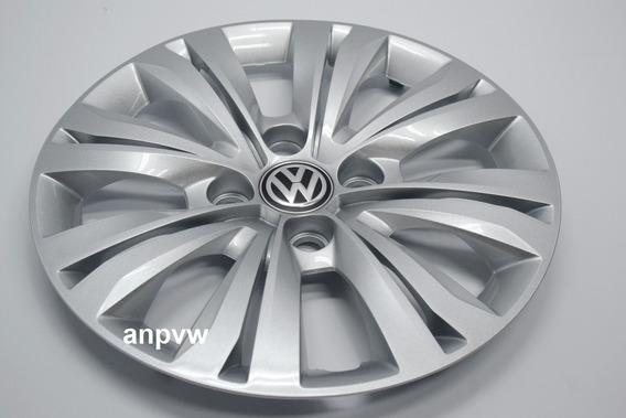 1 Calota Aro 14 Original Volkswagen Gol Voyage G6 G7 4 Furos