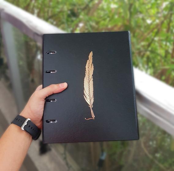 Caderno Argolado Fichário Ótima Pena - Original 12x S/juros