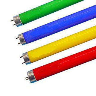 Tubo Fluorescente Nrv 36w Color Verde Pack 25 Unid.