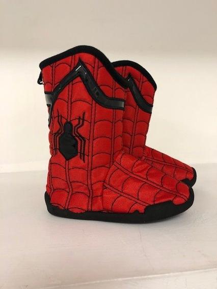 Hombre Araña Unico Par 16cms En Pantuflas $790.00