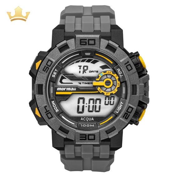Relógio Mormaii Masculino Mo1148ac/8c Com Nf