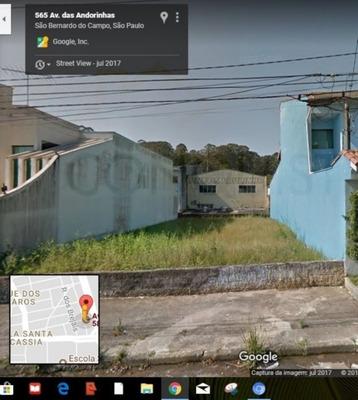 Terreno - Parque Dos Passaros - Ref: 1656 - V-3821