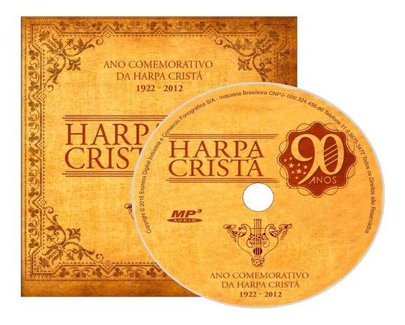 4 Cds Harpa Crista São 640 Hinos Coleção