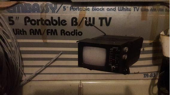 Tv Portatil 5 Polegadas Embasy