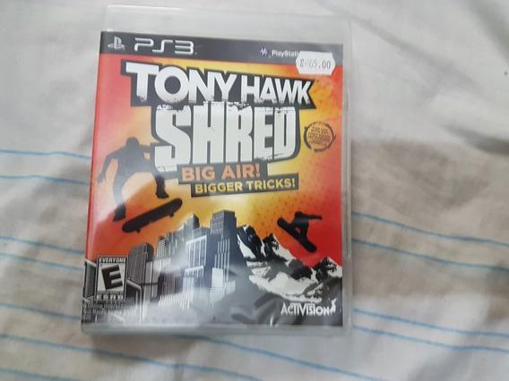 Tony Hawk: Shred - Ps3 - Lacrado!