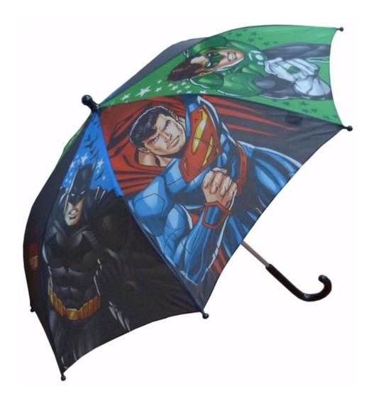 Paraguas Liga De La Justicia Batman Superman Mundo Manias