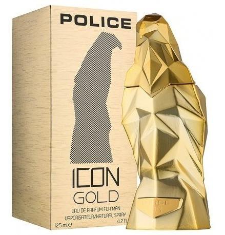 Police Icon Gold Edp 125ml Masculino - Original