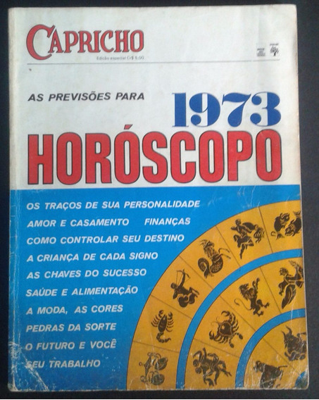 Revista Capricho Especial - Horóscopo - Ed. Abril 1973