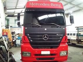 Mercedes-benz Axor 2544 Vermelho 2011