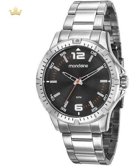Relógio Mondaine Masculino 99368g0mvne1 Com Nf