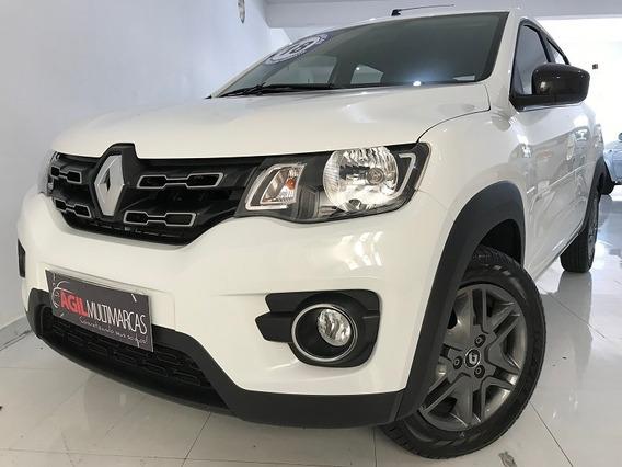 Renault Kwid 1.0 Intense Único Dono 2018 Branca