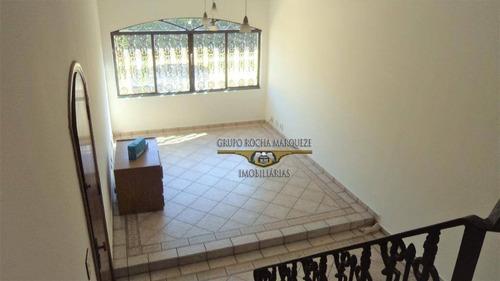 Sobrado Com 3 Dormitórios À Venda, 192 M² Por R$ 700.000,00 - Jardim Piqueroby - São Paulo/sp - So1579