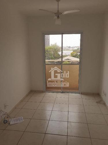 Apartamento Com 2 Dormitórios Para Alugar, 50 M² Por R$ 950/mês - Campos Elíseos - Ribeirão Preto/sp - Ap3856