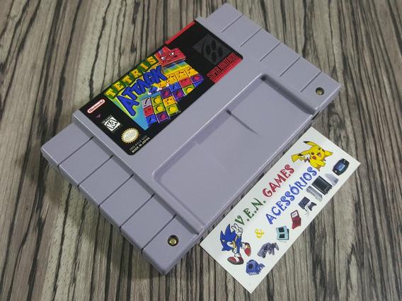 Tetris Attack Original Repro Snes + Frete Gratis!!!!!!