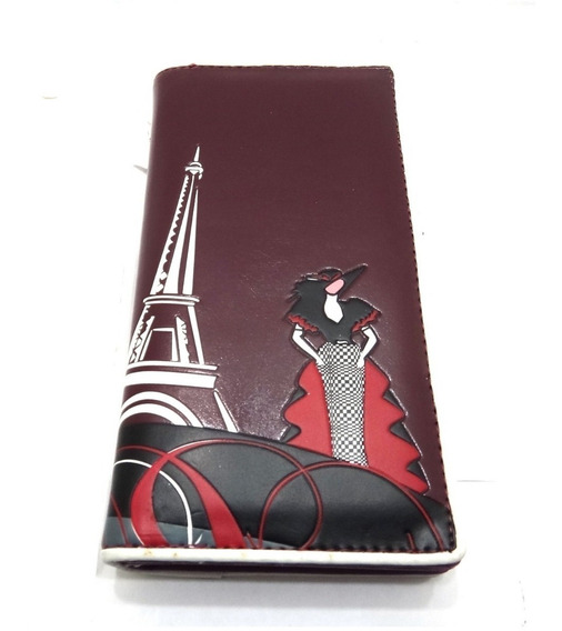 Monedero Original Eiffel Paris Mujer Regalo Dama Diseño