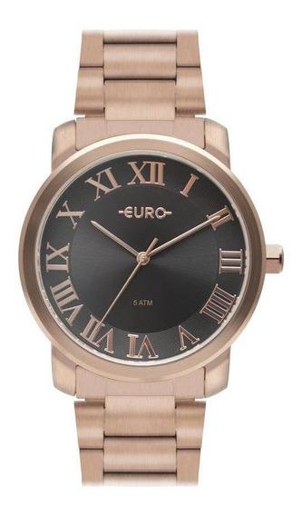Relógio Euro Feminino Delicado Casual Moderno Dia A Dia