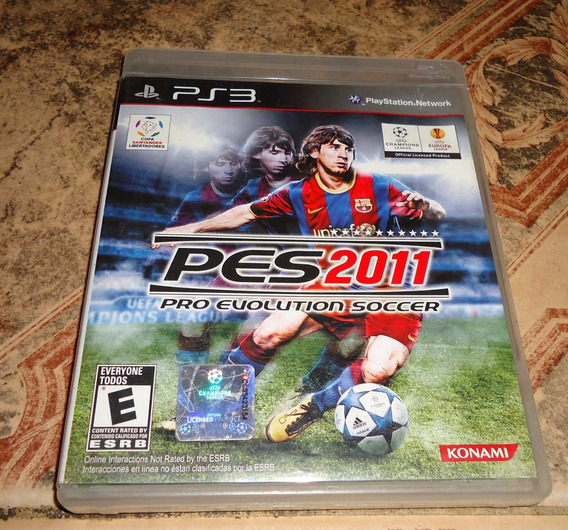 Pes 2011 Pro Evolution Soccer - Playstation 3