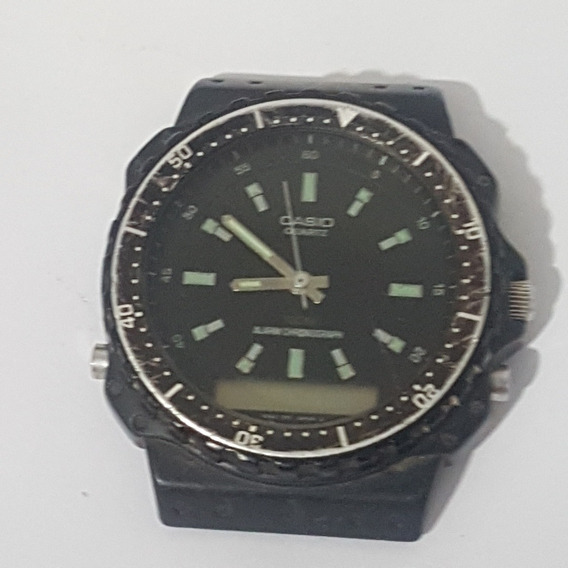 Relogio Casio 307 Aq 100w Original Parado Antigo Do Vovo Rar