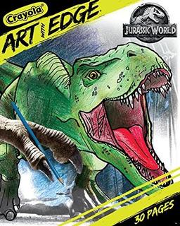 Crayola Art With Edge Jurassic World Libro De Colorear Regal
