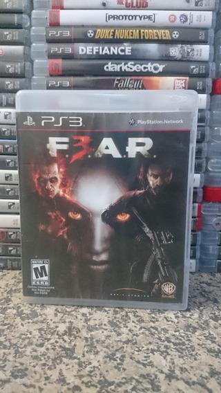 F.3.a.r. F.e.a.r. Fear 3 Ps3 Midia Fisica-frete R$10