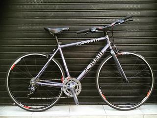 Bici Rod 28 Cinelli Aluminio Talle 55 16 Velocidades Nueva