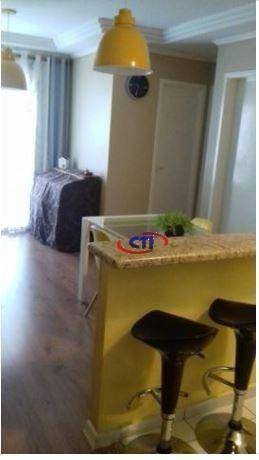 Imagem 1 de 12 de Apartamento Com 2 Dormitórios À Venda, 47 M² - Vila Gonçalves - São Bernardo Do Campo/sp - Ap3120