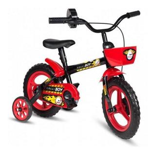 Bicicleta Infantil Aro 12 Styll Hot Colli - Preta 0