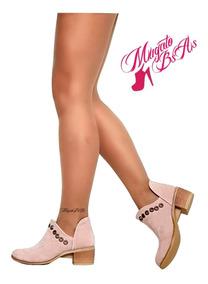 Zapatos Charrito Texanas Mujer Cuero 35 Al 40 Otoño 2019