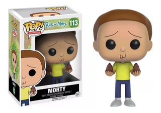 Funko Pop Morty 113 Rick And Morty Original Oferta!!!