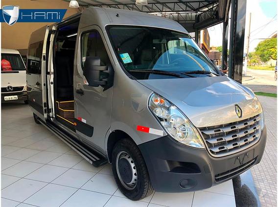 Renault Master Executiva L3h2 Prata 16 Lugares 2020