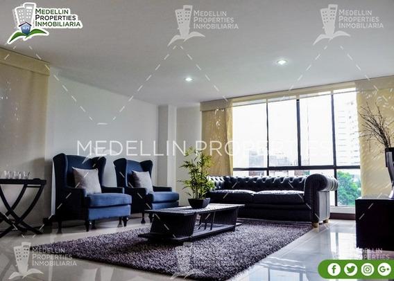 Arrendamiento Amoblados Por Meses Medellín Cód: 4882