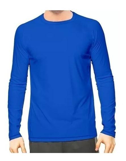 Camisa Térmica Manga Comprida Proteção Uv50 Masculina