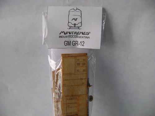 Imagen 1 de 5 de Nico Locomotora Gr-12 Gral Motors Kit Fibrofacil H0 (mnl05)