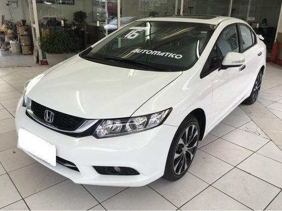 Honda Civic Branco 2.0 Exr 16v Flex 4p Automático 2016