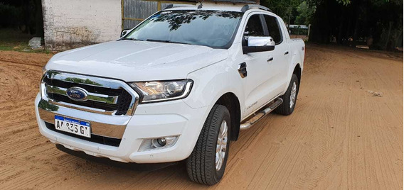 Ford Ranger Limited 2017 Automática Impecable
