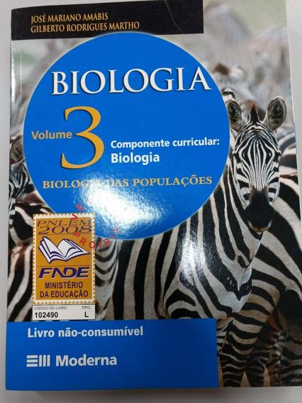 Biologia - Biologia Das Populações - 3ª Série - 2° Grau