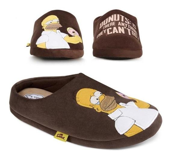 Pantuflas Homero Simpson Regalo Perfecto 2607023 Mod. 7255