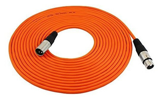 Gls 25 Pies De Audio Cable Cable Cable Cables Naranja Cable