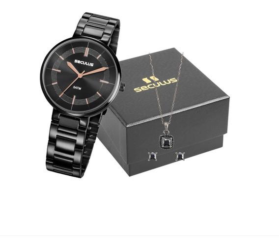 Relógio Seculus Feminino 23634lpsvps3