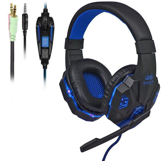 Headset Game Fone Xbox One S X Ps4 Slim Pro Smartfones F26